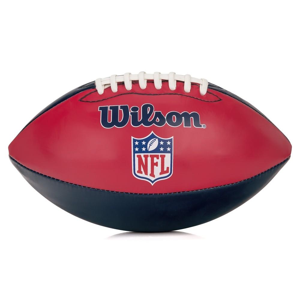 Bola de Futebol Americano Wilson NFL Team Logo New England Patriots Jr ( WTF1534XBNE )